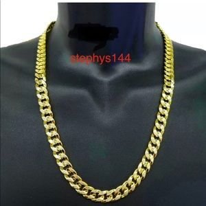 Other - MENS link  CUBAN CHAIN necklace color gold